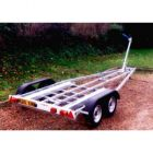 SBS BK/2000 Twin Axle Yacht Trailer